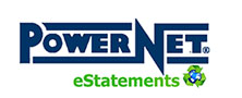 PowerNet eStatements logo